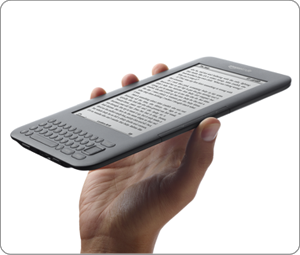New Amazon Kindle wireless reading device