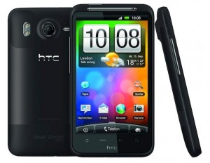 HTC Desire HD factory reset