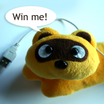 Win-a-raccoon competition