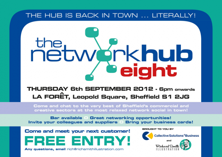 Network Hub 8 - 6th September, Leopold Square, Sheffield