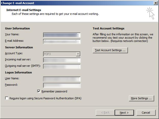 Select 'more settings'