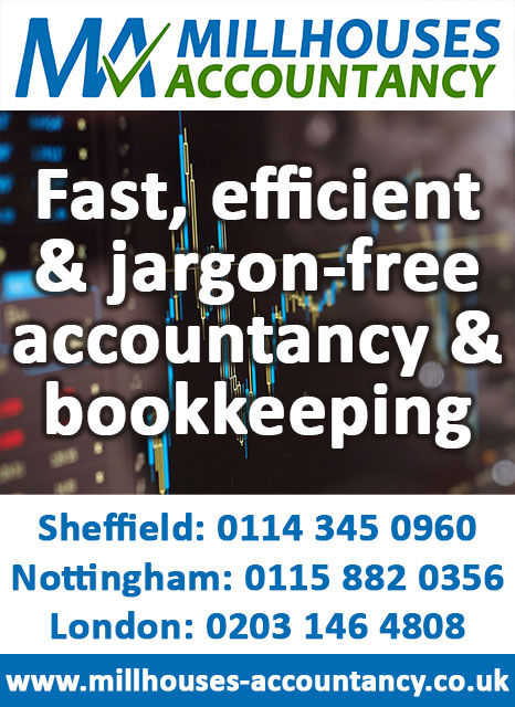 Bookkeeping & accountancy services in Sheffield, London & Nottingham